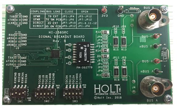 ADK-1585: HI-1585 Transceiver Demonstration Board - Holt ...
