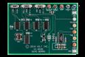 ADK-8596: HI-8596 CMOS 3.3V ARINC Line Driver Demonstration Board
