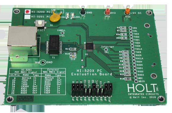 Ethernet PHY Application Development Kits - Holt ...